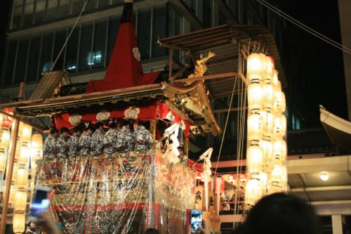 Gion Festival evening-Gojo Guest House Annex by Taka