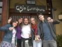 guest at Gojo Guesthouse (Kyoto hostel)